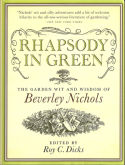 View larger image of 'Rhapsody in green - The Garden Wit and Wisdom of Beverley Nichols'